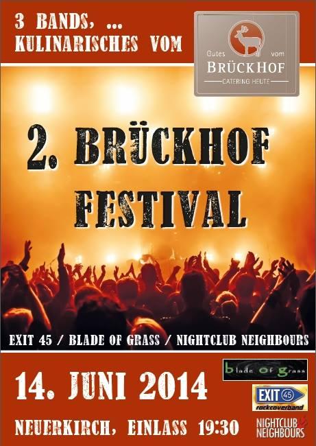 Brückhof Festival am 14.06.2014 in Neuerkirch