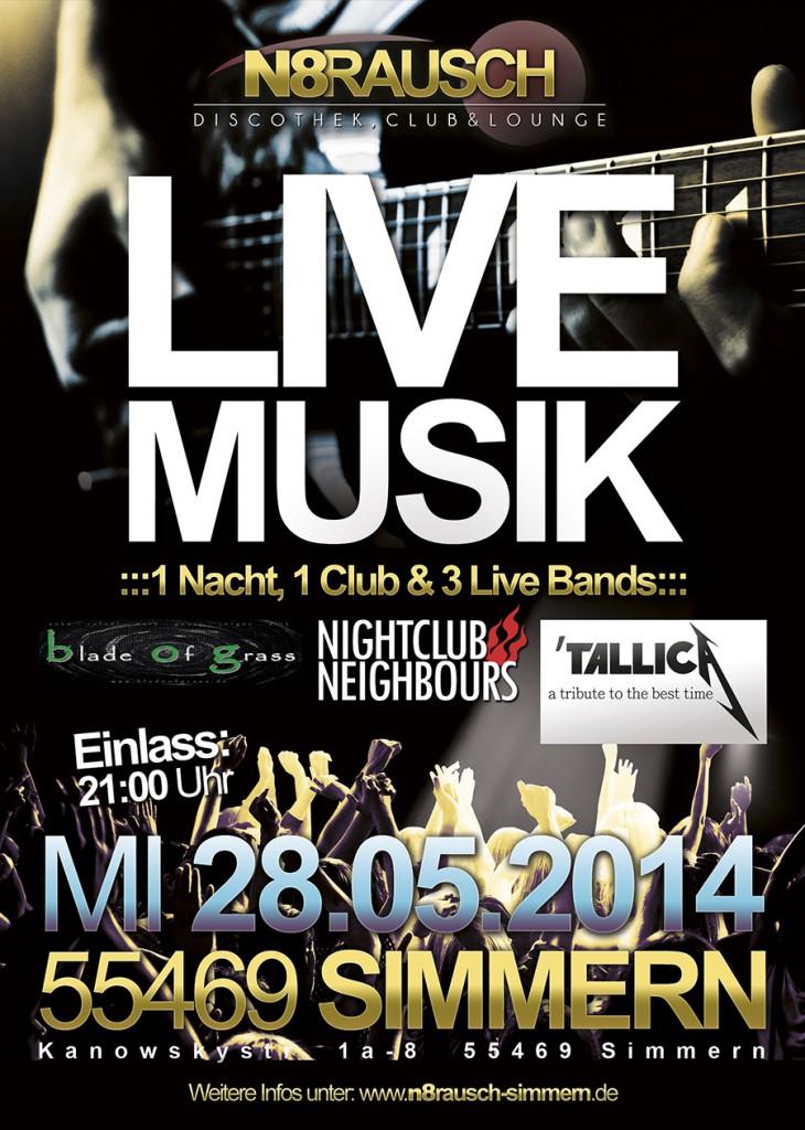 N8Rausch Live Musik