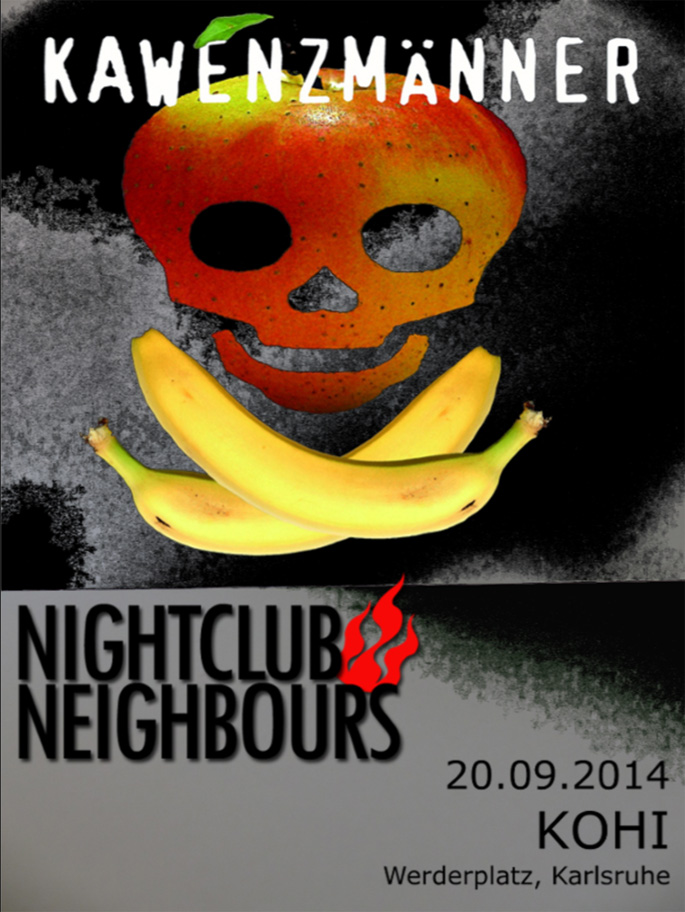 Nightclub Neighbours am 20.09.2014 im KOHI in Karlsruhe