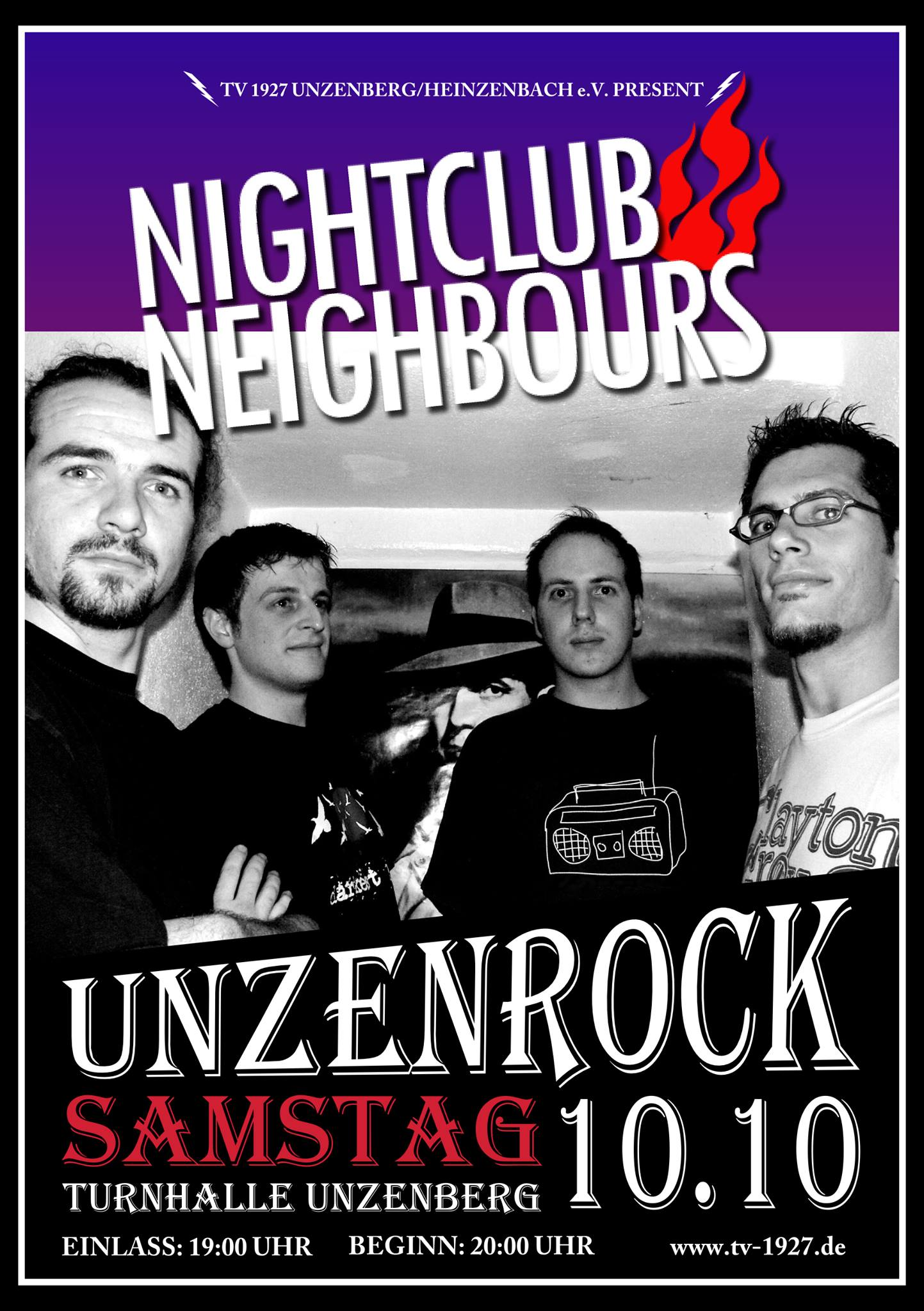 Nightclub Neighbours beim Unzenrock